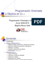 Programacion orientada a objetos en C++