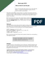 2012 News quiz - Teachers notes