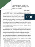 1.DÜNYA SAVAŞI ESNASıNDA AZERBAYCAN TÜRKLERİ'NİN ERZURUM AHALİSİNE YAPTlGI KARDAŞ KÖMEĞİ ( YARDIMLARI )
