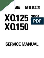 MAXTER 125 Service manual