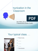 Communication in Classroom