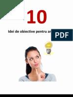 10 Idei de Obiective Pentru 2013