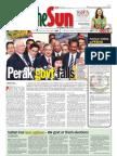 The Sun Malaysia Cover (5 February 2009)