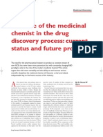 05.Win.the Role of the Medicinal Chemist in the Drug Discovery Process Current Status and Future Prospects