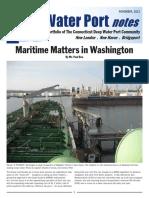 CT Water Port Deepwater Port notes Nov 2012
