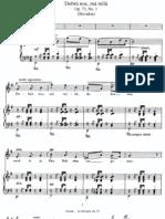Dvorak - In Folk Tone (song cycle)