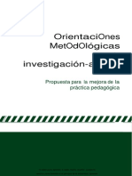 Orientaciones Metodologicas Para La Investigacion Accion