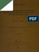 Beitraege zur Geschichte des Sinaiklosters im Mittelalter Nach Arabischen Quellen