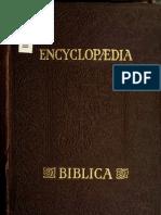 Encyclopædia Biblica - vol. 3/4 L-P