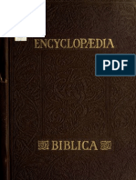 Encyclopædia Biblica - vol. 2/4 E-K