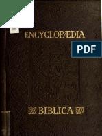 Encyclopædia Biblica - vol. 4/4 Q-Z