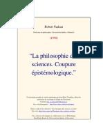 Philosophie Des Sciences, Par Robert Nadeau