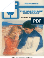 Susan Alexander the Marriage Contract [HP 719 MB 2 | Anger