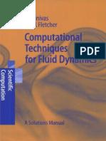 Computational Techniques for Fluid Dynamics - Solutions Manual