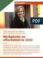 Werkplezier en effectiviteit in 2020
