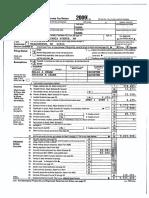 Barack Hussein Obama, II, Tax Return - 2009