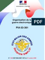 """""""L'organisation de la guerre électronique en France"""", du Ministère de la Défense, 7 décembre 2008"""