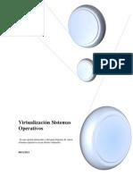 Virtualización Sistemas Operativos