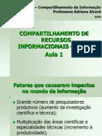 Compatilhamento de Recursos Informacionais I