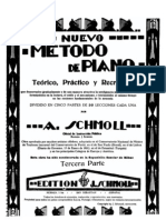 A Schmoll - Metodo de piano - 3ª parte