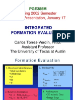 2Integrated Formation Evaluation