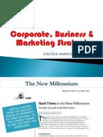 Corporate, Business & Marketing Strategies
