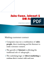 Sales Force, Direct Marketing & Internet Selling