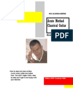 Ramirez Classical Guitar Method