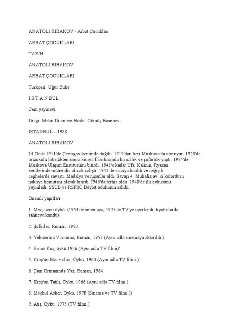 Kirov çubukları: adresleri ve özellikleri 4
