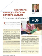 School Culture Dr Wagner