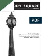 The Clock in Peabody Square, Ashmont [Dorchester]