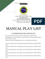 MANUAL DE PLAY LIST