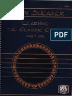 Aaron Shearer, Classical Guitar