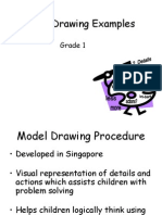 Model Drawing Animations Grade 1