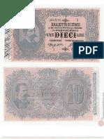 Biglietti di Stato a Corso Legale del Regno d'Italia e della Repubblica Italiana
