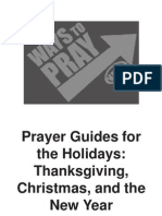 Holiday Prayer Guide1
