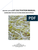 Bean Sprout Cultivation Manual - Ed1 - Book