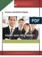 Weekly Newsletter-equity 31dec2012