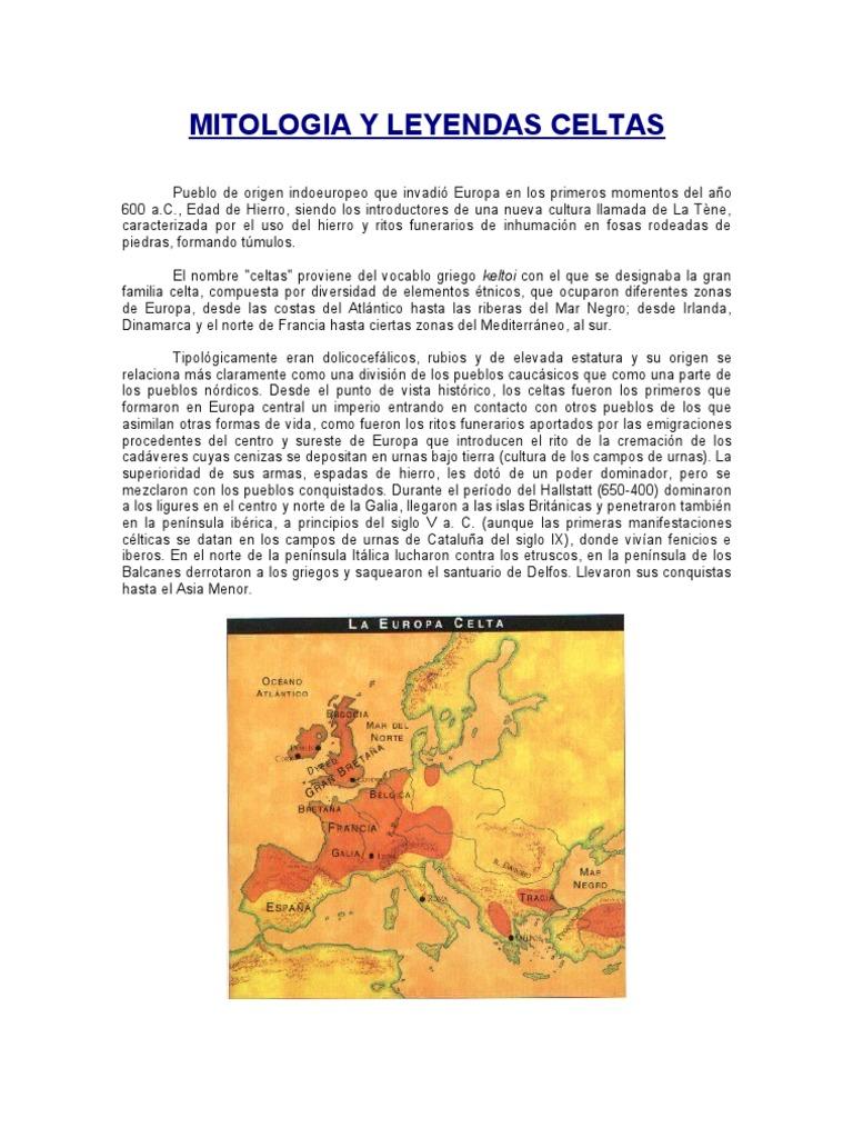 Mitologia & Leyendas Celtas