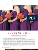 Inside Weddings Magazine Feature NFL OT Jake Long's wedding to Jackie Laurian planned & designed by Tiffany Nieves-Cook