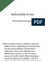 Radionuklida Di Laut