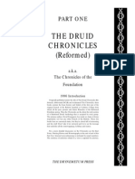 01 Chronicles of the Foundation - A Reformed Druid Anthology