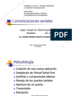 Comunicaciones seriales con visual C# 2010