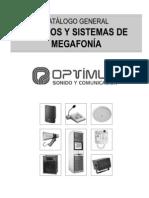 Catálogo MEGAFONÍA 2006