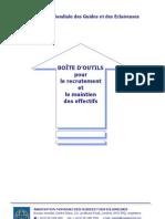 AMGE BOÎTE D'OUTILS pour le recrutement et le maintien des effectifs