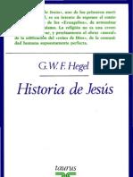 HEGEL - Historia de Jesús