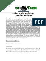 Anonimo - Historia de las ideas evolucionistas