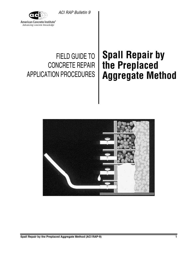 concrete repair concrete safety rh es scribd com