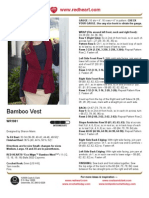 Bamboo Vest