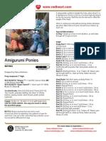 Amigurumi Ponies